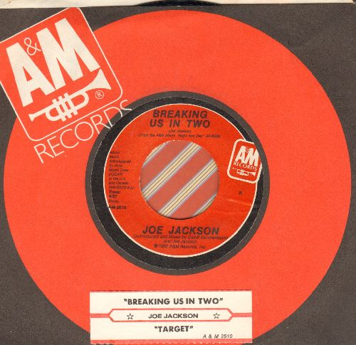 Jackson, Joe - Breaking Us In Two/Target (with A&M company sleeve and juke box label) - NM9/ - 45 rpm Records