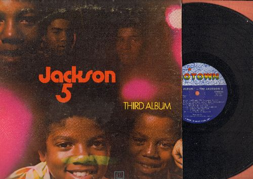 Jackson 5 - Third Album: I'll Be There, Mama's Pearl, Bridge Over Troubled Water, Ready Or Not (Here I Come) (Vinyl STEREO LP record) - EX8/VG7 - LP Records
