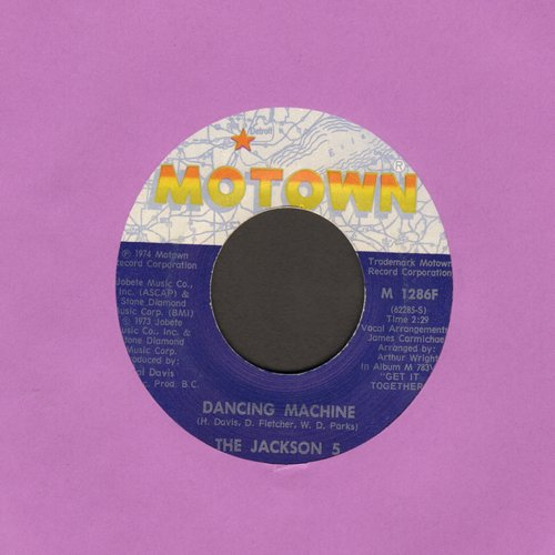 Jackson 5 - Dancing Machine/It's Too Late To Change The Time - EX8/ - 45 rpm Records