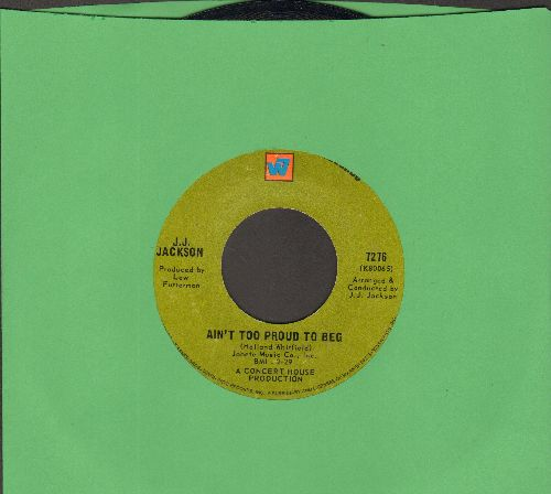 Jackson, J. J. - Ain't Too Proud To Beg/But It's Alright  - EX8/ - 45 rpm Records