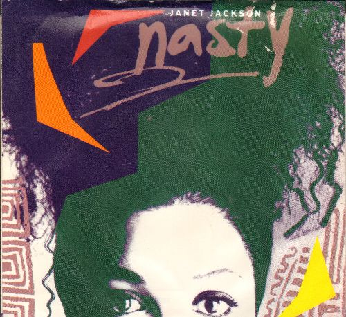 Jackson, Janet - Nasty/You'll Never Find (A Love Like Mine) (with picture sleeve) - NM9/EX8 - 45 rpm Records