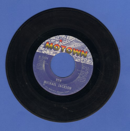 Jackson, Michael - Ben/You Can Cry On My Shoulder - EX8/ - 45 rpm Records