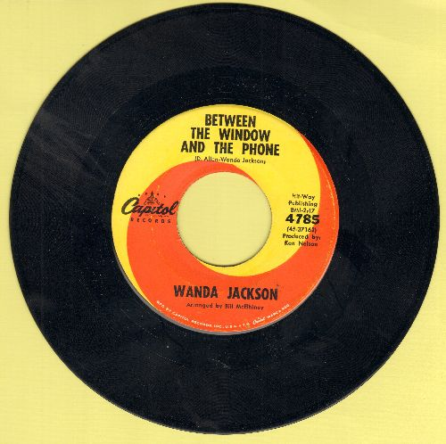 Jackson, Wanda - Between The Window And The Phone/I Misunderstood - NM9/ - 45 rpm Records