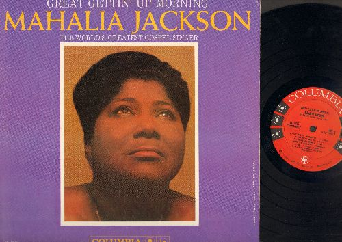 Jackson, Mahalia - Great Getting' Up Morning: How Great Thou Art, God Put A Rainbow In The Sky, He Must Have Known, My Journey To The Sky (Vinyl MONO LP record, red/black label, 6 eyes) - NM9/EX8 - LP Records