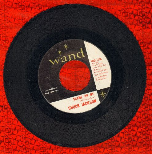 Jackson, Chuck - Shame On Me/Candy  - EX8/ - 45 rpm Records