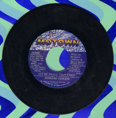 Jackson, Jermaine - Let Me Tickle Your Fancy/Maybe Next Time - EX8/ - 45 rpm Records