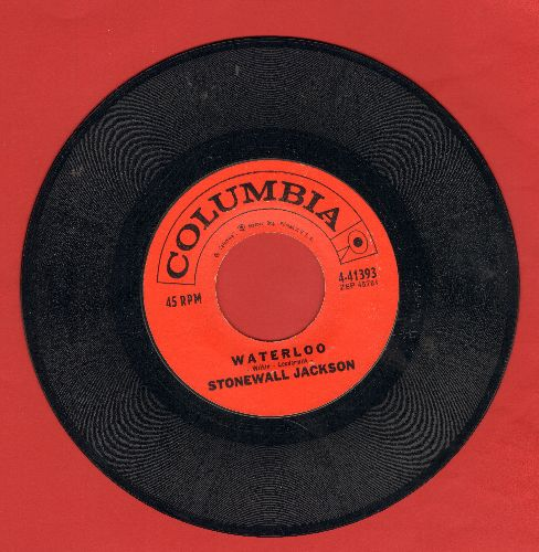 Jackson, Stonewall - Waterloo/Smoke Along The Track - NM9/ - 45 rpm Records