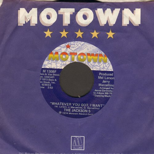 Jackson 5 - Whatever You Got, I Want/I Can't Quit Your Love (with Motown company sleeve) - NM9/ - 45 rpm Records