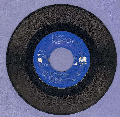 Jackson, Janet - Escapade/Escapade (Instrumental) - EX8/ - 45 rpm Records