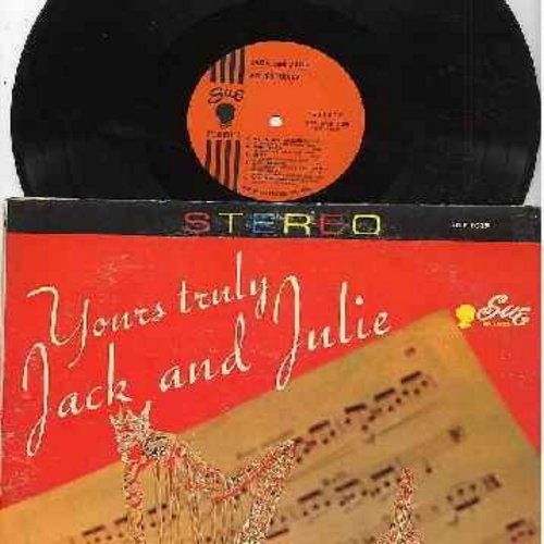 Jack & Julie - Yours Truly: My Funny Valentine, Over The Rainbow, The Continental, S'Wonderful, Tico Tico (Vinyl STEREO LP record) - NM9/VG7 - LP Records