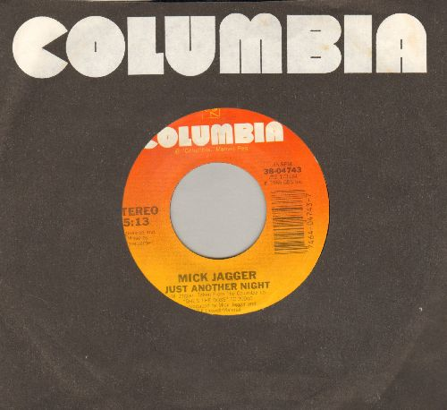 Jagger, Mick - Just Another Night/Turn The Girl Loose (with Columbia company sleeve) - EX8/ - 45 rpm Records
