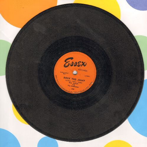 Haley, Bill with The Saddlemen - Rock This Joint/Icy Heart (10 inch 78 rpm record) - VG6/ - 78 rpm