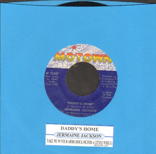 Jackson, Jermaine - Daddy's Home/Take Me In Your Arms (with juke box label) - EX8/ - 45 rpm Records
