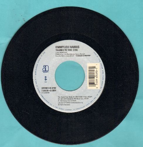 Harris, Emmylou - Thanks To You/Lovin' You Again - NM9/ - 45 rpm Records