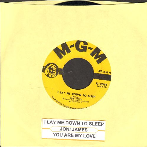 James, Joni - I Lay Me Down To Sleep/You Are My Love (yellow label first issue with juke box label) - EX8/ - 45 rpm Records
