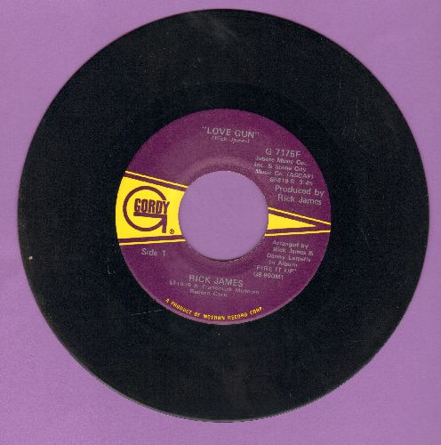 James, Rick - Love Gun/Stormy Love - NM9/ - 45 rpm Records