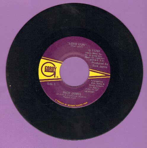 James, Rick - Love Gun/Stormy Love - NM9/ - 45 rpm Records