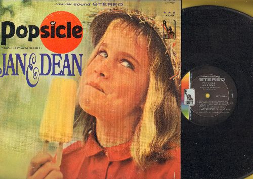 Jan & Dean - Popsicle: She's My Summer Girl, Norwegian Wood, A Surfer's Dream, Surfin' Wild (Vinyl STEREO LP record) - NM9/VG7 - LP Records