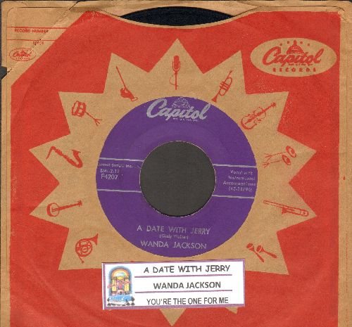 Jackson, Wanda - A Date With Jerry/