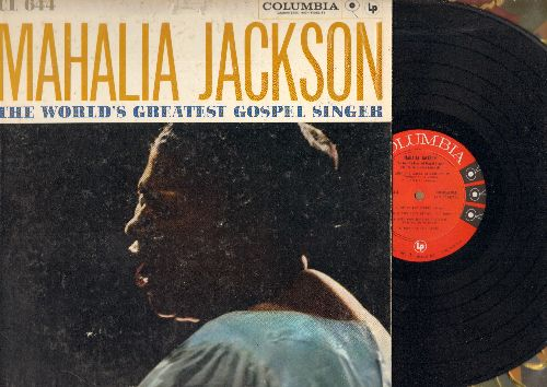 Jackson, Mahalia - The World's Greatest Gospel Singer: When I Wake Up In Glory, When The saints Go Marching In, Didn't It rain (vinyl MONO LP record) - NM9/EX8 - LP Records