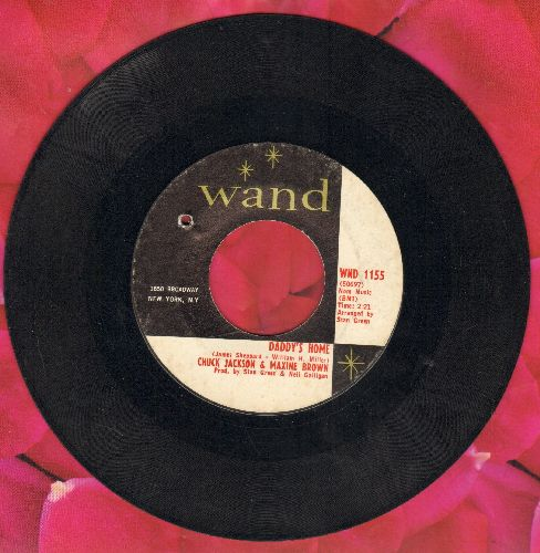 Jackson, Chuck & Maxine Brown - Daddy's Home/Don't Go (bb) - EX8/ - 45 rpm Records
