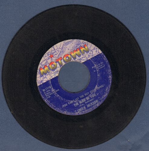 Jackson, Chuck - (You Can't Let The Boy Overpower) The Man In You/Girls, Girls, Girls - G5/ - 45 rpm Records
