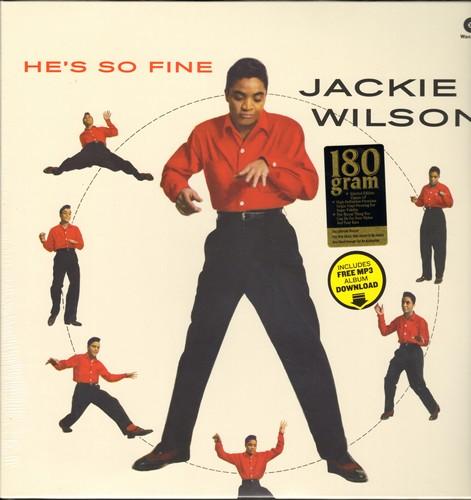 Wilson, Jackie - He's So Fine: To Be Loved, Reet Petite, Danny Boy, Etcetera (RARE 180 gram Virgin Vinyl reissue, EU pressing, SEALED, never opened!) - SEALED/SEALED - LP Records