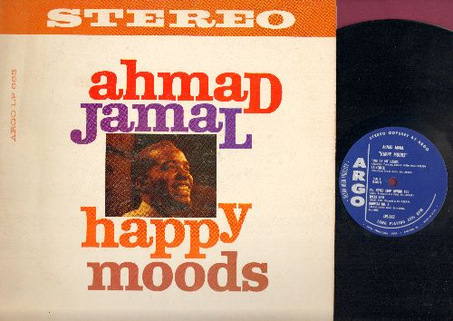 Jamal, Ahmad - Happy Moods: Little Old Lady, For All We Know, Raincheck, Speak Low, Rhumba No. 2 (Vinyl STEREO LP record) - NM9/EX8 - LP Records