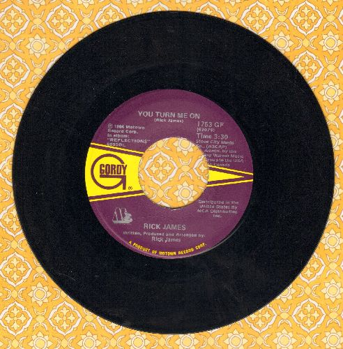 James, Rick - You Turn Me On/Fire And Desire - NM9/ - 45 rpm Records