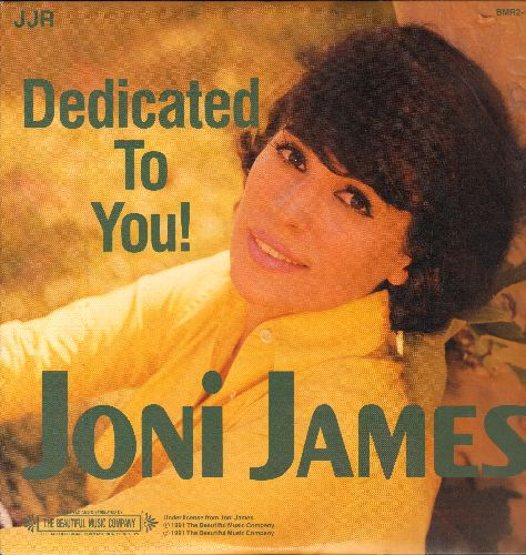 James, Joni - Dedicated To You!: When You Wish Upon A Star, Little Things Mean A Lot, You Belong To Me, Always (2 vinyl LP record, 1991 issue of vintage recordings) - NM9/NM9 - LP Records