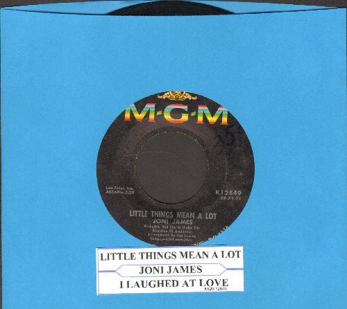 James, Joni - Little Things Mean A Lot/I Laughed At Love (with juke box label) - VG7/ - 45 rpm Records