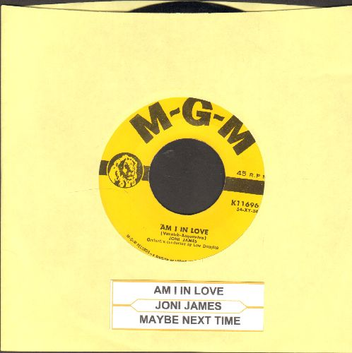 James, Joni - Am I In Love/Maybe Next Time (with juke box label) - NM9/ - 45 rpm Records