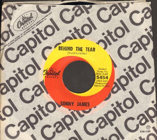 James, Sonny - Behind The Tear/Runnin' (with Capitol company sleeve) - NM9/ - 45 rpm Records