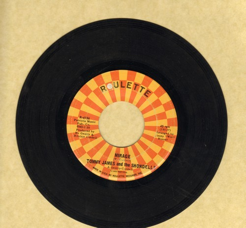 James, Tommy & The Shondells - Mirage/Run, Run, Baby, Run - EX8/ - 45 rpm Records