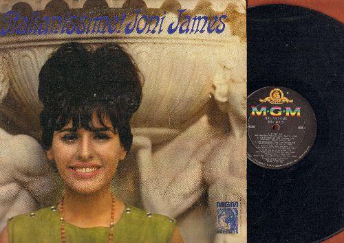 James, Joni - Italianissime!: Come Prima, Quando Quando Quando, Al Di La, Volare, Ciao Ciao Bambina (vinyl MONO LP record, sung in Italian and English) - EX8/EX8 - LP Records