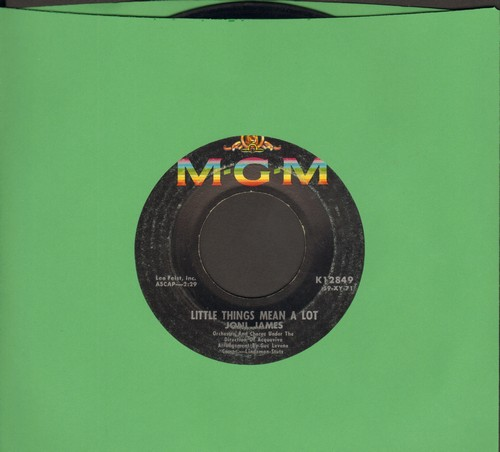 James, Joni - Little Things Mean A Lot/I Laughed At Love - VG7/ - 45 rpm Records