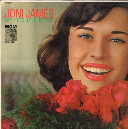 James, Joni - My Foolish Heart: I'll Know, If I Were A Bell, Stella By Starlight, On A Slow Boat To China (vinyl MONO LP record) - NM9/EX8 - LP Records