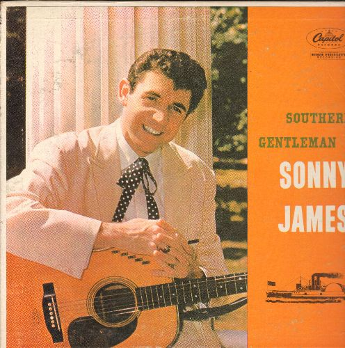 James, Sonny - Southern Gentleman: Can't Get Over Missing You, 'Til The Last Leaf Shall Fall, I Wish I Knew, Forgive Me, Lonesome (vinyl MONO LP record, 1957 first pressing) - NM9/EX8 - LP Records