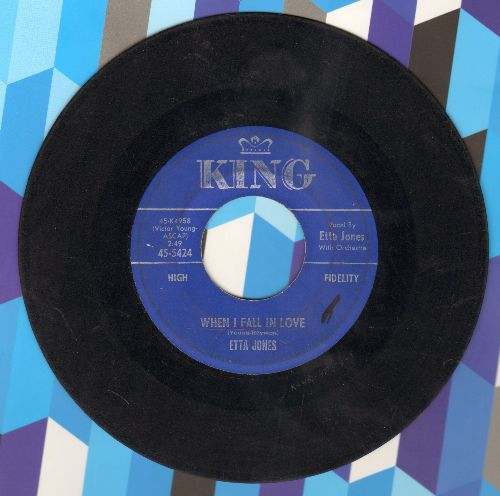 James, Etta - When I Fall In Love/People Will Say We're In Love - VG6/ - 45 rpm Records