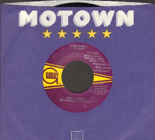 James, Rick - You And I/Hollywood (with Motown company sleeve) - EX8/ - 45 rpm Records