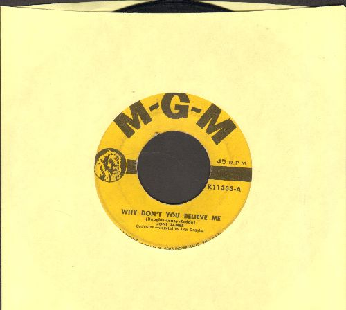 James, Joni - Why Don't You Believe Me/Purple Shades - VG7/ - 45 rpm Records