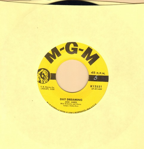 James, Joni - Day Dreaming/Crying In The Shadows (yellow label first issue) - VG7/ - 45 rpm Records