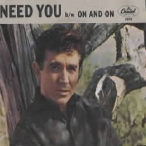 James, Sonny - Need You/On And On (w/pic) - EX8/EX8 - 45 rpm Records