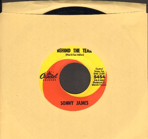 James, Sonny - Behind The Tear/Runnin'  - EX8/ - 45 rpm Records