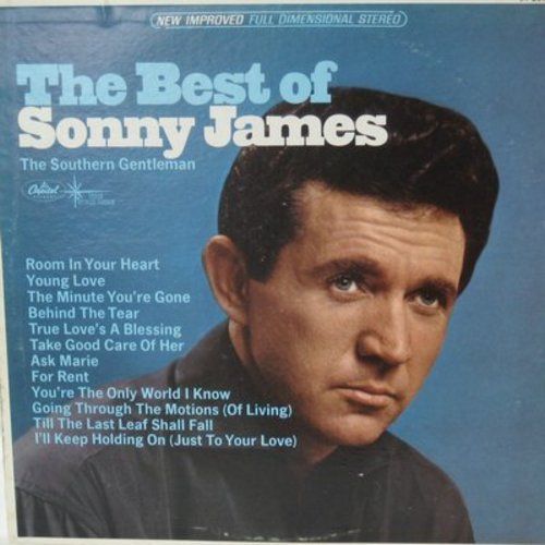 James, Sonny - The Best Of: Young Love, Take Good Care Of Her, Till The Last Leaf Shall Fall (Vinyl STEREO LP record, re-issue) - NM9/EX8 - LP Records