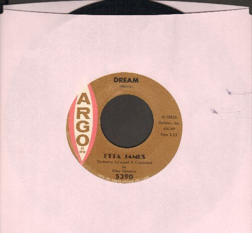 James, Etta - Dream/Fool That I Am  - NM9/ - 45 rpm Records