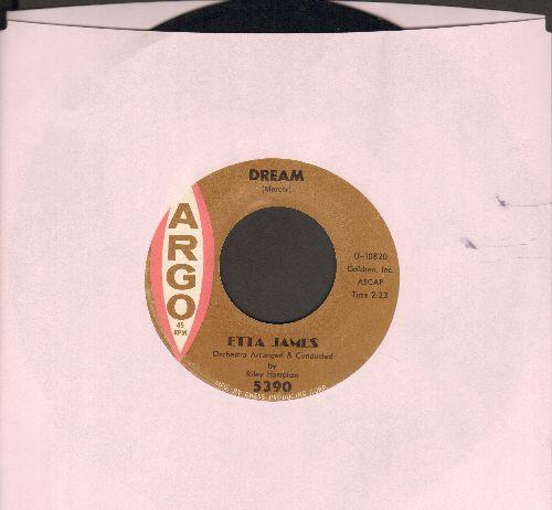 James, Etta - Dream/Fool That I Am  - NM9/ - 45 rpm Records