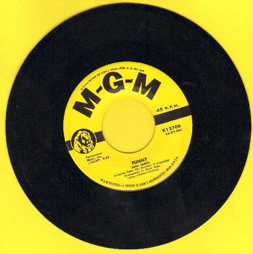 James, Joni - Funny/There Goes My Heart (yellow label first issue, NICE condition!) - NM9/ - 45 rpm Records