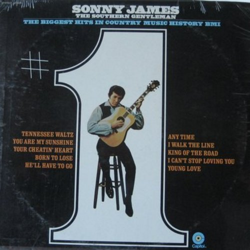James, Sonny - Biggest Hits In Country Music History: You Are My Sunshine, I Walk The Line, Young Love, He'll Have To Go, Norn To Lose (Vinyl STEREO LP record, SEALED, never opened!) - SEALED/SEALED - LP Records