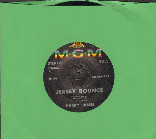 James, Harry - Jersey Bounce/End Of Town Blues (7 inch 33rpm STEREO pressing, small spindle hole) - NM9/ - 45 rpm Records